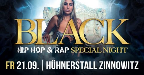 Black, Rap and Hip Hop - Special Night