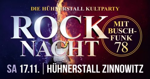Rock Nacht mit Buschfunk 78 - We Will Rock You