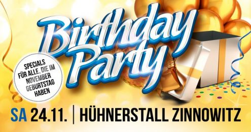 Birthday Party - November Edition