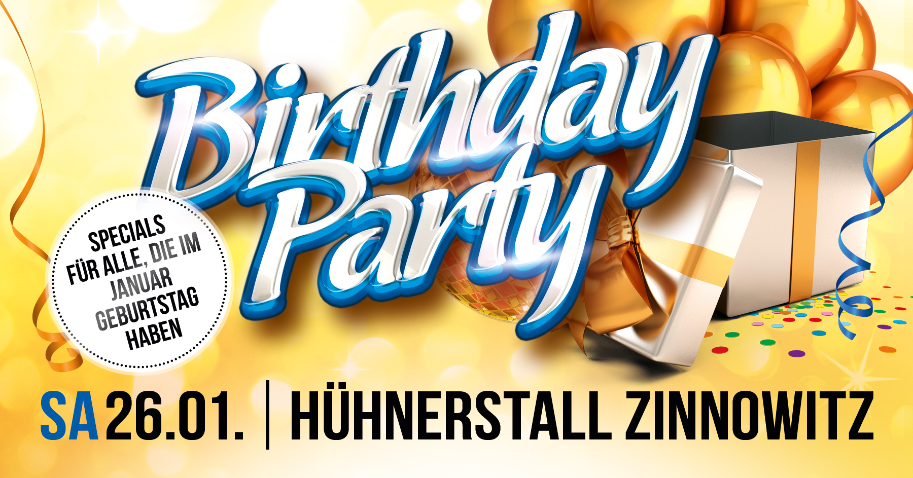 Birthday Party - Januar Edition