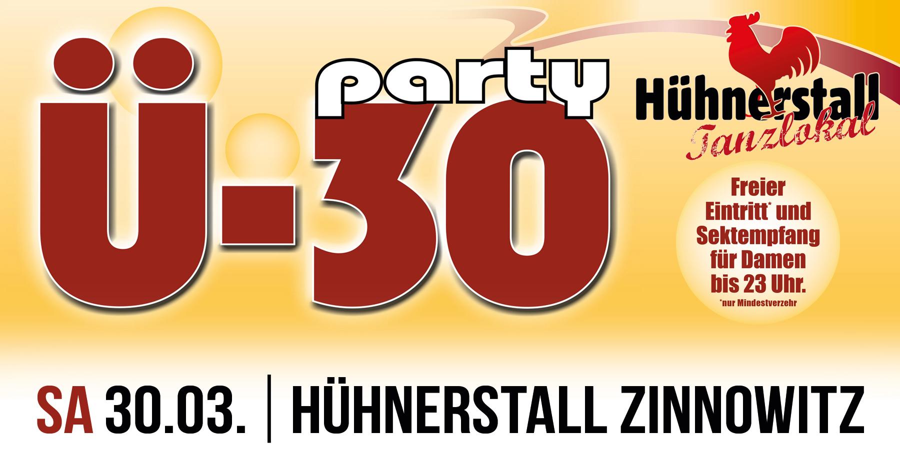 Ü 30 Party - Generation 25+