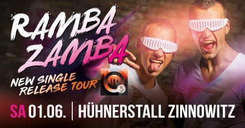 Ramba Zamba - New Single - Release Tour