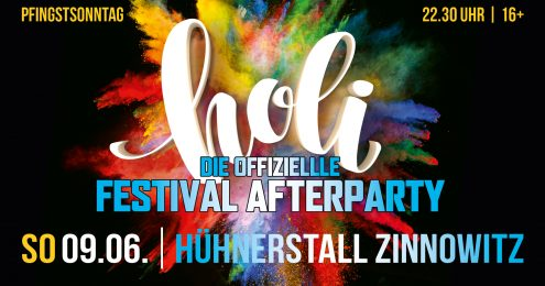Offizielle Holi After Party