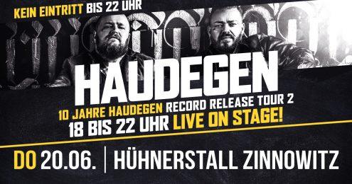 10 Jahre Haudegen Record Release Tour 2