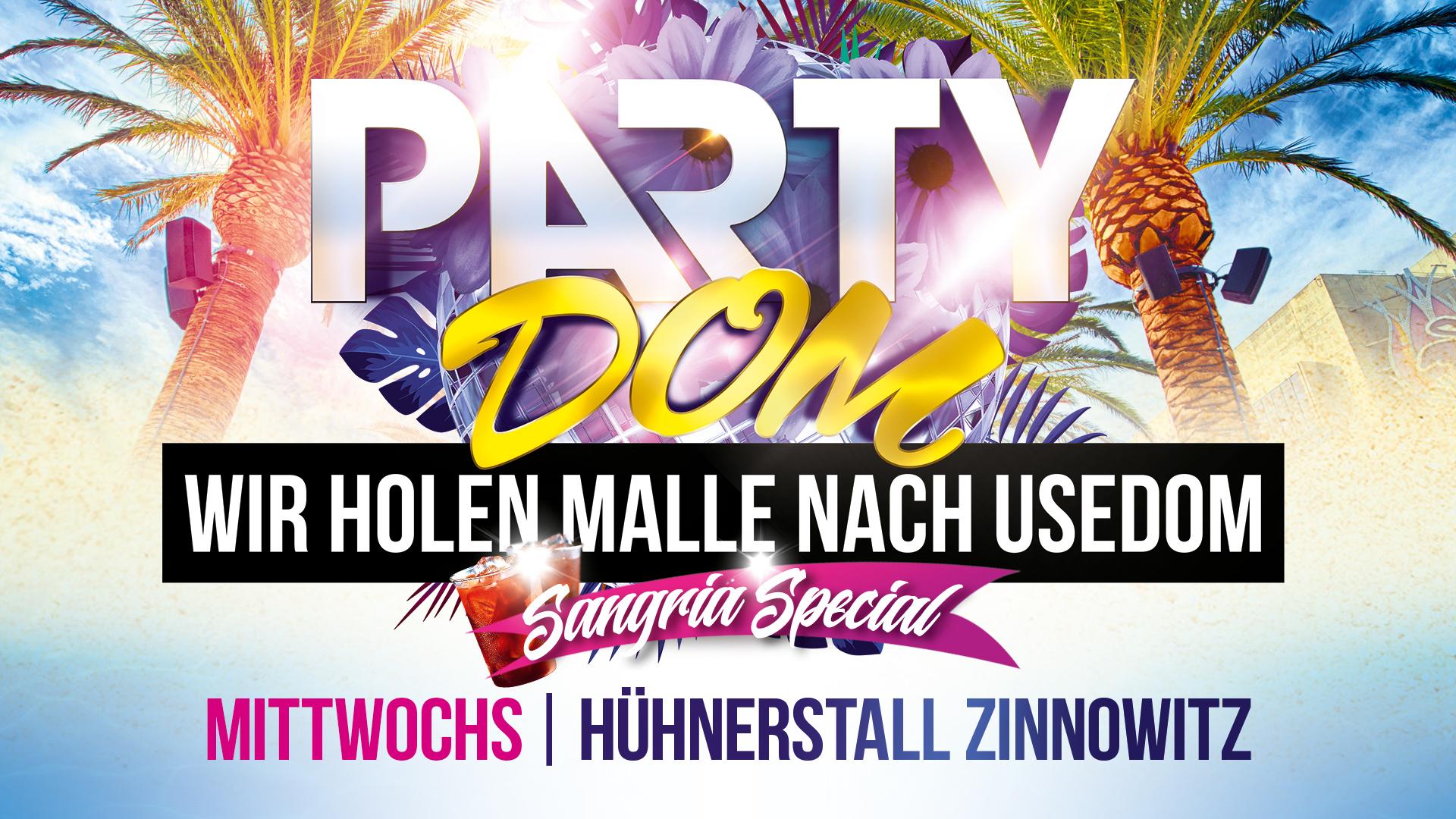 Party Dom - Wir holen Malle nach Usedom