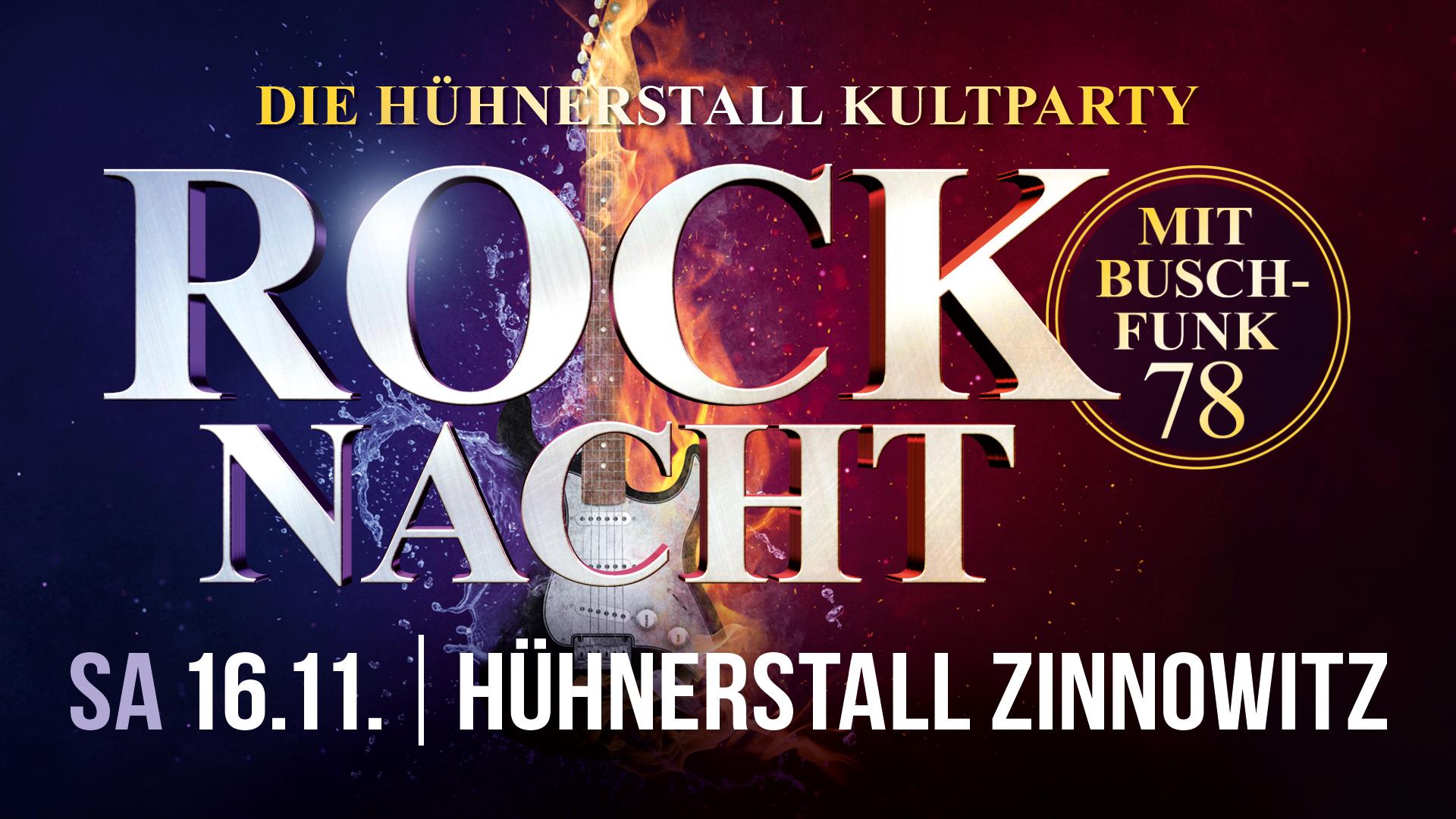Rocknacht mit Buschfunk 78