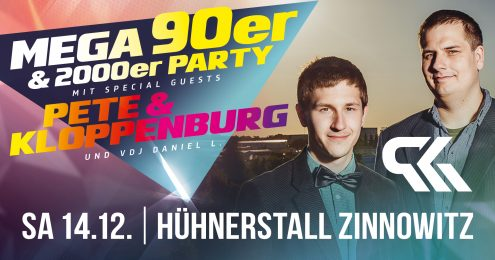 Mega 90er & 2000er Party