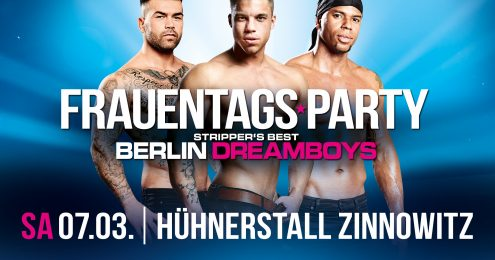 Große Frauentags-Party - Berlin Dreamboys Live