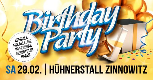 Birthday Party - Februar Edition